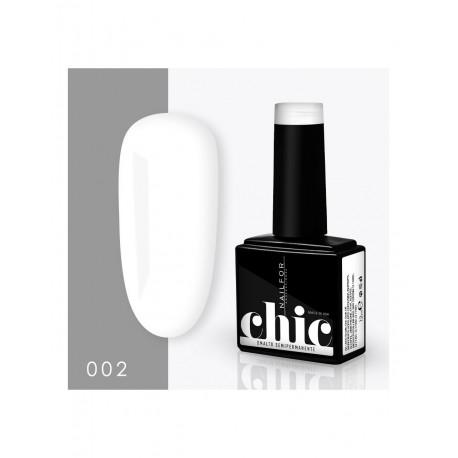 CHIC SMALTO SEMIPERMANENTE- 002 BIANCO bianco pastello