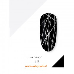 SPIDER GEL - ARGENTO 12-S